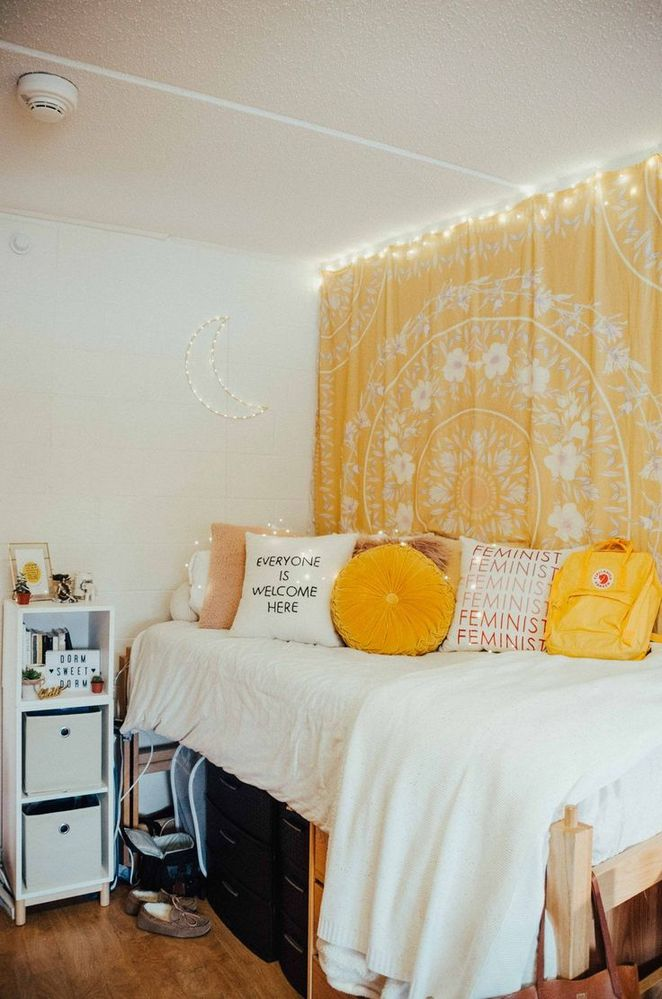Top Yellow Aesthetic Bedroom Reviews 72 Dizzyhome Com