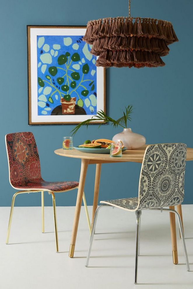 35+ Hendrix Dining Chair Damask Features