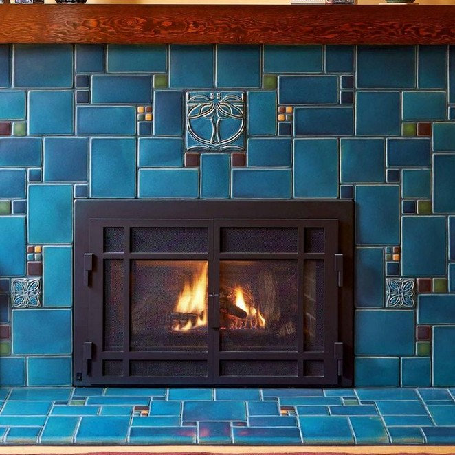 37+ The Upside to STYLISH TILED FIREPLACES