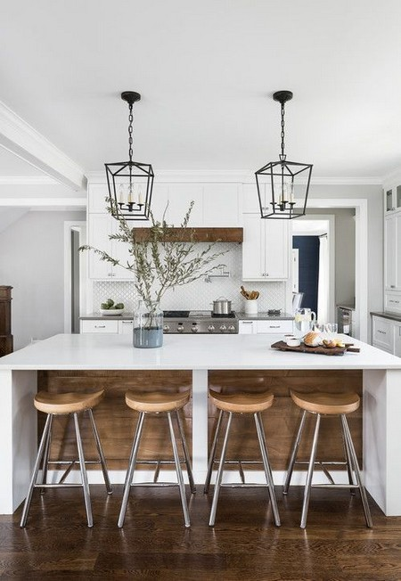 Lovely Modern Farmhouse Kitchen