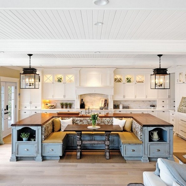 20 Kitchen island with implicit seating ideas